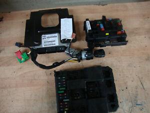 2004 PEUGEOT 307CC 307 CC 2.0 16V ENGINE ECU KIT 9654716780 9654792980