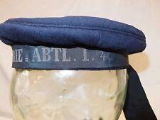 SCARCE FIRST WORLD WAR GERMAN NAVAL 'DONALD DUCK' UNIFORM HAT CAP