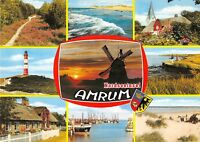 GG10186 nordseeinsel amrum windmill mill windmuhle  germany