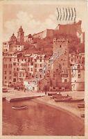 Cartolina - Postcard - Portovenere - La Spezia - Spiaggia - Barche - 1935
