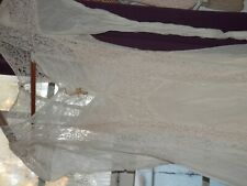Vintage Lace Wedding Dress, Estate Sale Find, Petite, 26 in. Waist, 1930's/40's