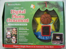 Memory Works Digital Photo Picture Frame Ornament Sports Basketball Star