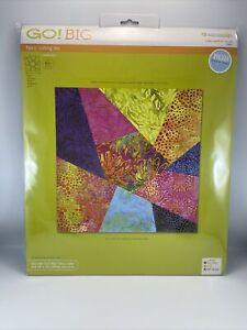 """Accuquilt GO! Fabric Cutting Die Crazy Quilt 10"""" 55861"""