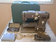Nice Vintage PFAFF 332 Sewing Machine Made In Germany With Case