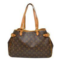 Louis Vuitton Batignolles Horizontal M51154 Monogram Shoulder Tote Hand Bag LV