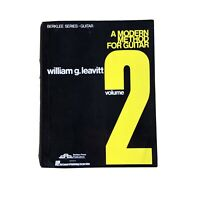 Berklee Series Modern Method For Guitar Volume 2 William G. Leavitt