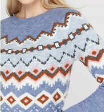 Monsoon Crew Neck Blue Jumpers & Cardigans for Women for