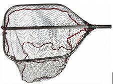 Trabucco pro large landing net folding rubber mesh  extending handle