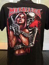 Rare VTG 90's Metallica Tour Shirt Sz M/L Slayer Priest Rock Maiden Metal Ozzy