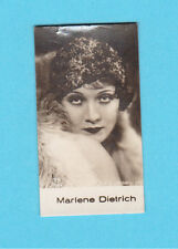 Marlene Dietrich Vintage 1930s Movie Film Star Cigarette Card from Germany #19