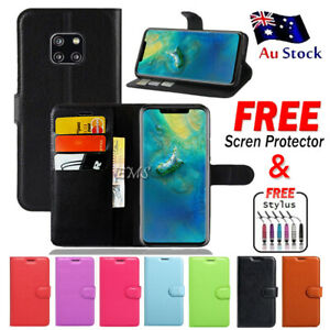 Wallet Leather Flip Shockproof Case Cover For Huawei Mate 10 Pro 20 20 Pro Case