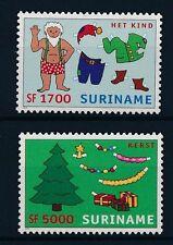 [SU1173] Suriname Surinam 2002 Christmas Santa Claus MNH