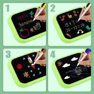 Reusable Painting Book Kids Toy Water Pen Drawing Doodle Aqua Mat Board Erasable
