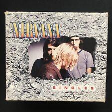 NIRVANA Singles BOX SET EUROPEAN NEVERMIND IN UTERO LITHIUM COBAIN 6 x CD