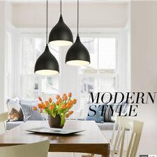 Modern Pendant Light Bar Kitchen Ceiling Lights Home Black Chandelier Lighting