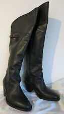 R.M. Williams Full Leather Women's Tall Boots Size 6.5 (23cm) Black As New