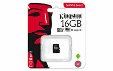 TARJETA MICRO SD KINGSTON 16,32 Gb