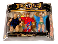 WWE CLASSIC 3 PACK SHEIK BUNDY VOLKOLFF HAND SIGNED TOY ACTION FIGURES WITH COA