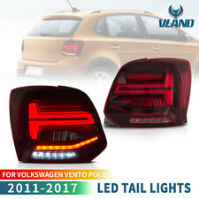 For Volkswagen VW 2011-2017 Polo LED Tail Light With Sequential Indicator