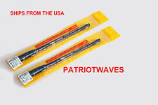 TWO (2x) PATRIOTWAVES Harvest SRH-789 Telescoping Antenna SMA-F