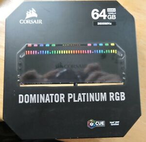 CORSAIR DOMINATOR PLATINUM RGB 64GB (4 x 16GB) DDR4 DRAM CMT64GX4M4K3600C18