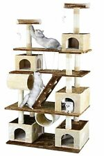 Go Pet Club F216 HUGE 87.5 In. Cat Tree Condo House Furniture