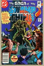 Swamp Thing #1-1982 nm- 9.2 Saga of The Swamp Thing Tom Yeates