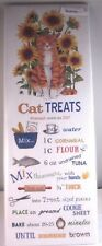 Mary Lake Thompson One Flour Sack Kitchen Recipe Towel Homemade Cat Treats New