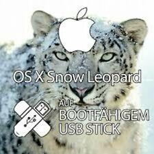 Apple macOS Snow Leopard 10.6 USB Install Stick
