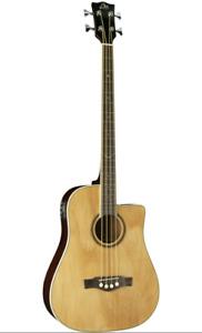 EKO NXT BASS D CW EQ N 4 Strings Acoustic Bass guitar + Free Picks