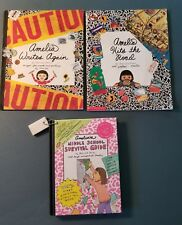 3 Amelia Books Writes Again, Hits the Road, Middle School by Marissa Moss