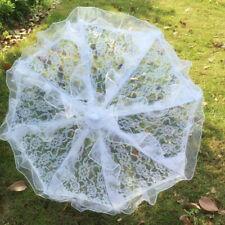 Lady Embroidery Lace Parasol Umbrella Wedding Dancing Bridal Party Decor