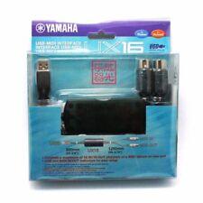 YAMAHA UX-16 CAVO DI INTERFACCIA USB MIDI (16 CANALI, DA COMPUTER A TASTIERA)
