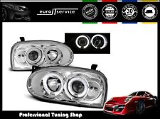 FARI ANTERIORI HEADLIGHTS LPVW02 VW GOLF III 1991-1994 1995 1996 1997 ANGEL EYES