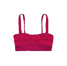 NEW HOLLISTER GILLY HICKS WOMENS LACE BRALETTE TANK LINED TOP TEE BANDEAU BRA M