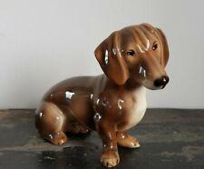 Wien Keramos Dachshund Dog Collectible Figurine