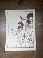 Childish Gambino Art Print Poster Keyline Edition By Jermain Rogers Signed X/25