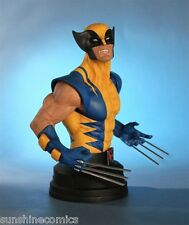 Wolverine Mini Bust 597/850 Yellow Costume Gentle Giant Marvel X-Men NEW SEALED