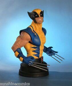 Gentle Giant Wolverine Mini Bust 595/850 Yellow Costume Marvel X-Men NEW SEALED