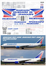 PAS Decals BEST-003 Boeing 767-300 and 767-200 Transaero collection 1/144