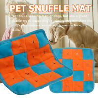 Pet Dog Snuffle Mat Nose Training Pad Feeding Blanket Cushion Stress Relieving