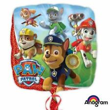 Foil Balloons Paw Patrol 18 Inch Air Or Helium Fill Balloon Party