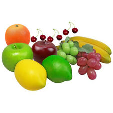 Fake Artificial Fruit Realistic Handmade 12pcs Photography props Decoration