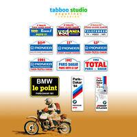 Adesivi Rallye Paris Dakar Algeri moto custom stickers pegatinas VSD Pioneer BMW