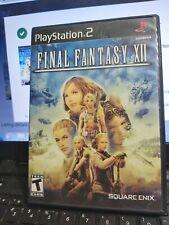 New listing Final Fantasy Xii (Sony PlayStation 2, 2006)