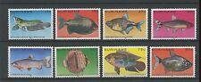 (W0554) FISH, SURINAM, NVPH 216/23, MNH/UM, SEE SCAN