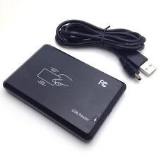 USB RFID Reader Tischgerät für EM4102 , EM4100, schwarzes Gehäuse, Ausgabe 10H