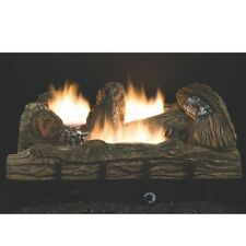 "NEW COMFORT GLOW CF2436PT 24"" LP GAS LOGS SET VENT FREE THERMOSTAT 6955835"