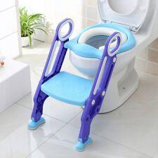 Toilettentrainer Kinder WC Sitz Toilettensitz Lerntöpfchen Töpfchen blau weiß