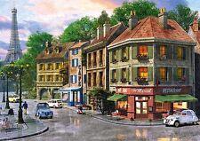 Puzzle Pappe Trefl 6000 Teile Straßen von Paris Eiffelturm 65001